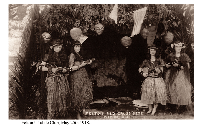 felton ukulele club 1918, pertaining to ukuleles, ukeleles, ukaleles, ukuleles of felton, felton, ukalope, ukelope, ukalope, uke-a-lope, cryptozoology, cryptids, criptids, ukulele jackalope, jackalopes